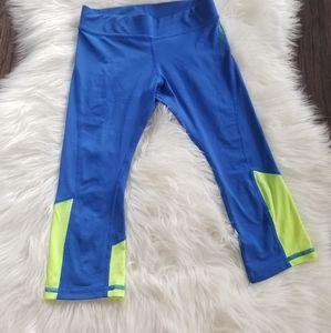 2/15$ 🔥 Reebok Girls Blue Sports Leggings Pants